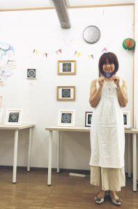 井口 摩優曼荼羅アート展示会